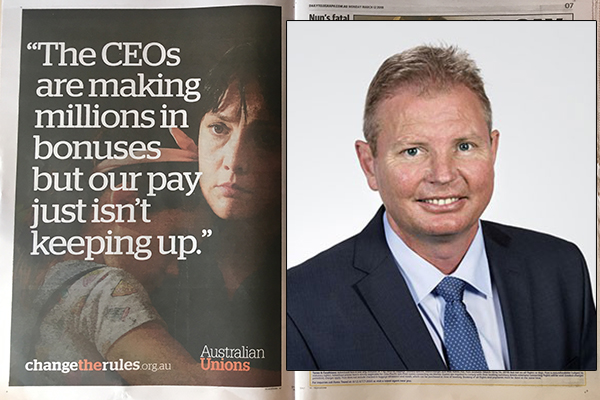 Article image for Federal MP slams dishonest union advertising campaign