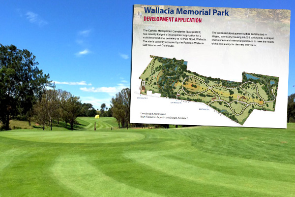 Article image for Cemetery planned for western Sydney golf course