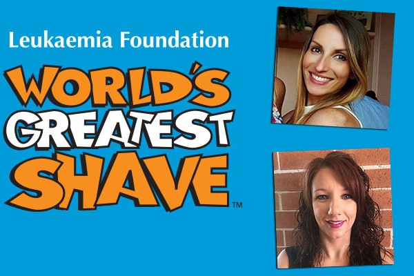 Two inspiring women shaving their heads for a great cause