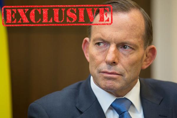 Tony Abbott says he's wary of 'anti-man agenda'