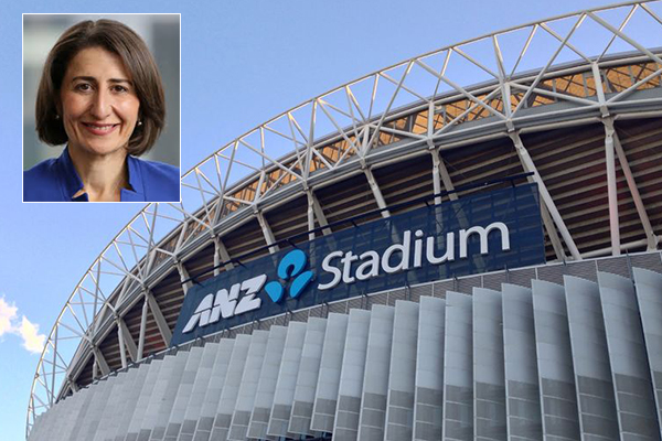 NSW Premier stands by stadium rebuild despite pushback