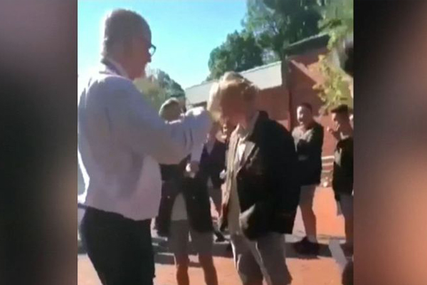 Article image for Deputy principal sacked for cutting  student's hair