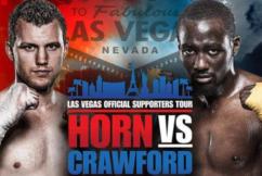Jeff Horn's promoter labels US boxing superstar 'soft'