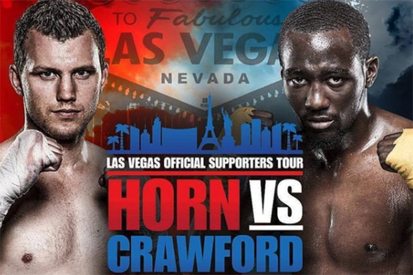 Article image for Jeff Horn's promoter labels US boxing superstar 'soft'