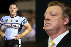 """Paul Gallen addresses his """"fued"""" with his new co-host Gus Gould"""