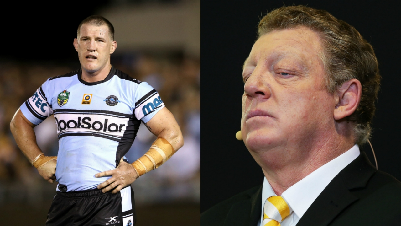 "Paul Gallen addresses his ""fued"" with his new co-host Gus Gould"