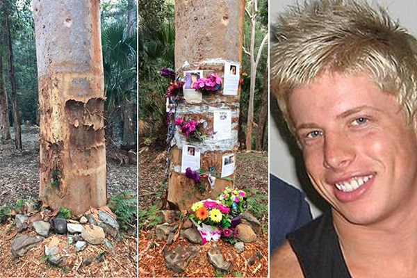 Article image for Matthew Leveson memorial site desecrated on eve of funeral