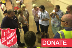 SALVOS APPEAL: Click here to donate