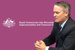 Finance Minister will consider extending the banking Royal Commission
