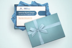 $10million to help raise awareness about National Bowel Cancer Screening program