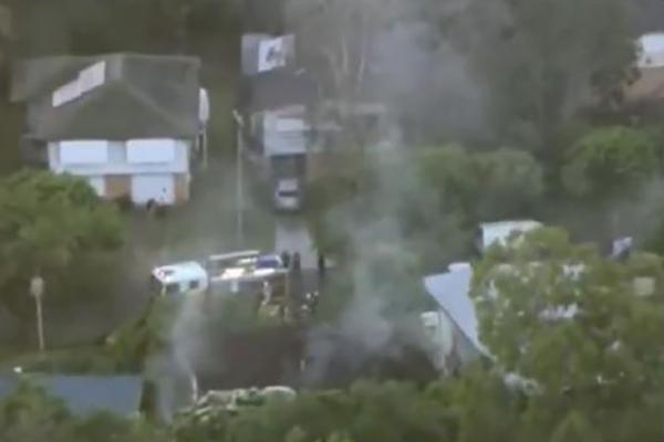 Three dead in suspicious house fire