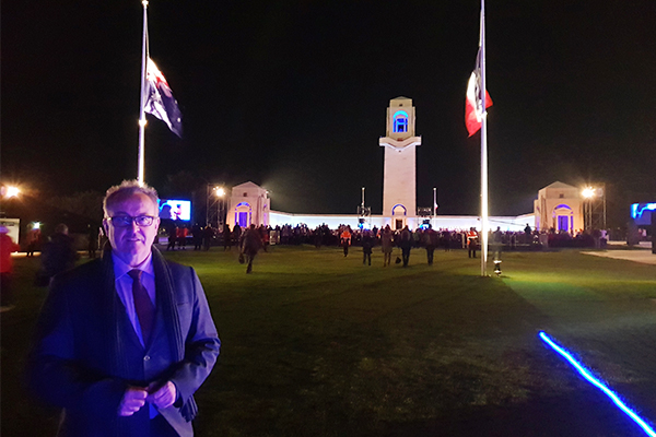 Article image for Chris hears the stories of Australians who've come to Villers-Bretonneux