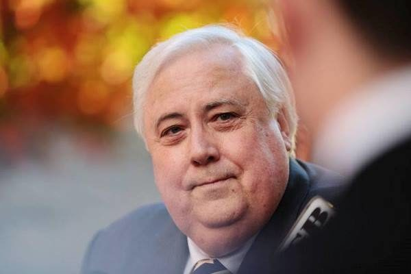 Clive Palmer hits out, claims 'government agenda' behind charges