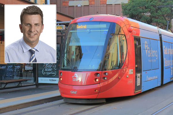 Article image for 'I'm going to turn this around': Transport Minister promises more light rail compensation