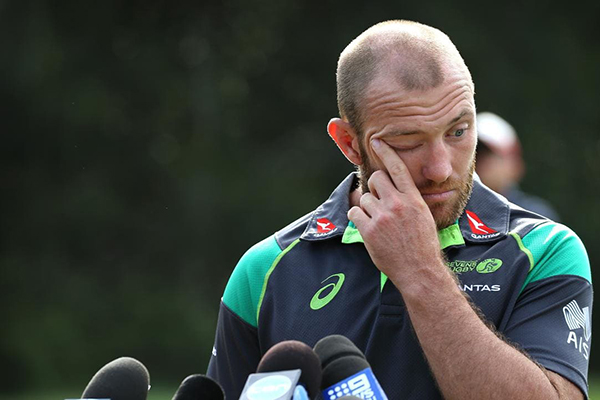 Father of bashed Aussie 7s captain says son is in a 'serious way'