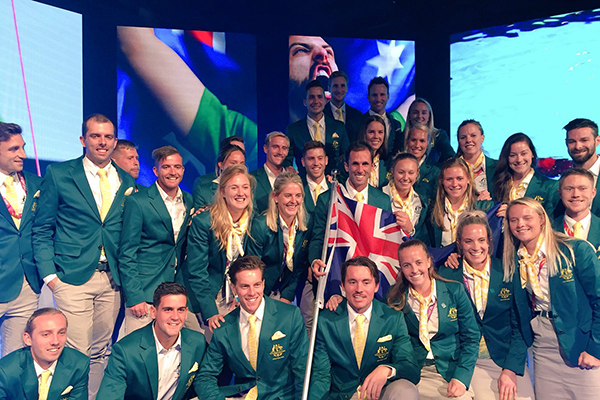 Article image for Meet Australia's Comm Games flag bearer, a humble country kid