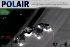 WATCH   Helicopter footage shows dramatic police pursuit