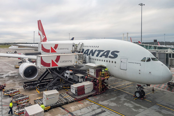 Qantas catering staff threatening to strike