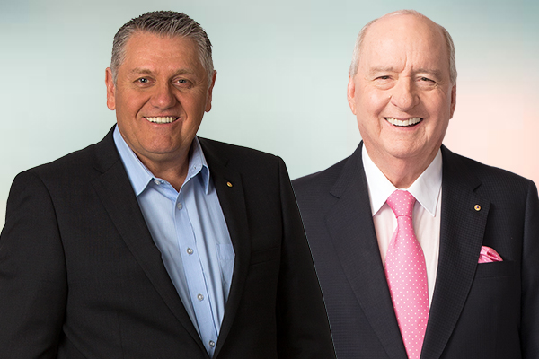 Article image for Ray gives Alan Jones a special thank you, 'without this fella, I wouldn't be here'