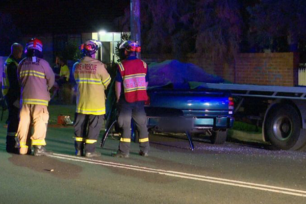 Article image for P-plater killed after slamming into parked truck in Sydney's north