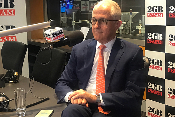 Article image for Prime Minister Malcolm Turnbull   'I'm going to go to the next election and win it'