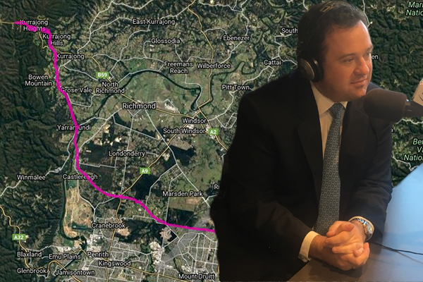 Article image for Minister for Western Sydney says proposed freeway isn't 'locked in'
