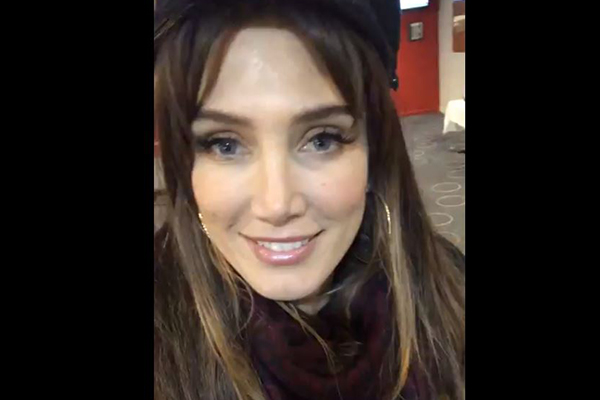 Delta Goodrem gives Ray's producer the ultimate birthday surprise