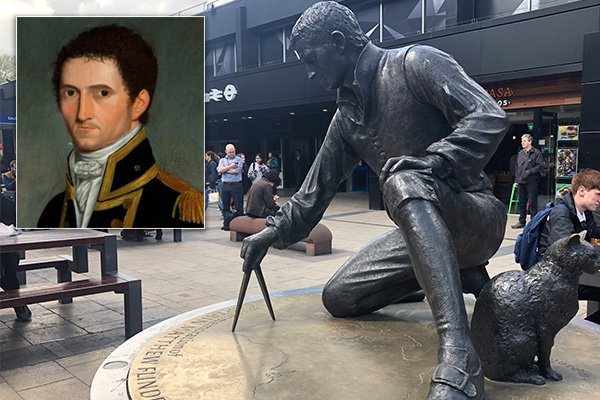 Suspected gravesite of great explorer Matthew Flinders could be under threat