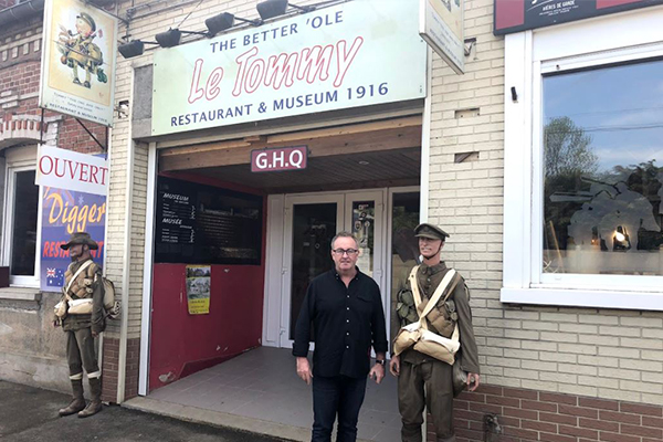 Article image for A listener told Chris he must visit Le Tommy. Now, he knows why