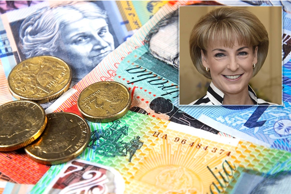 Article image for We want to see personal income tax lowered, Michaelia Cash says