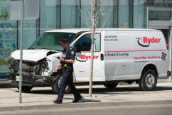 Toronto witness phones Ray Hadley: 'It drove up on the curb and just started bulldozing people'
