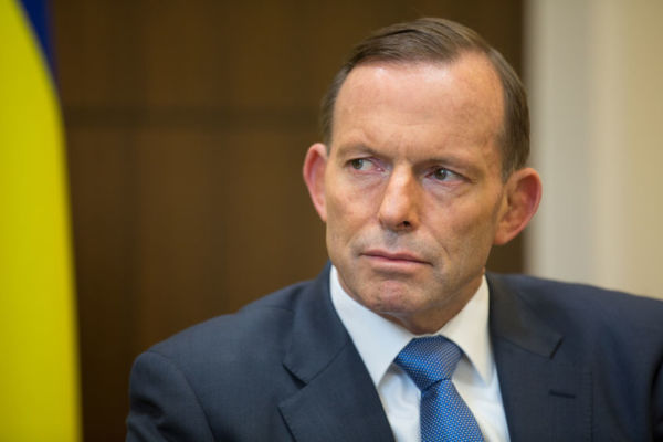 Article image for 'She should be courteous': Tony Abbott on student's national anthem boycott