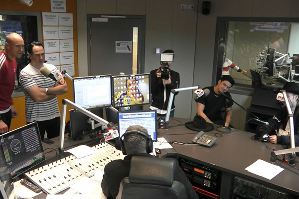 Article image for WATCH | Nova pranks Ray Hadley with one of the world's biggest bands