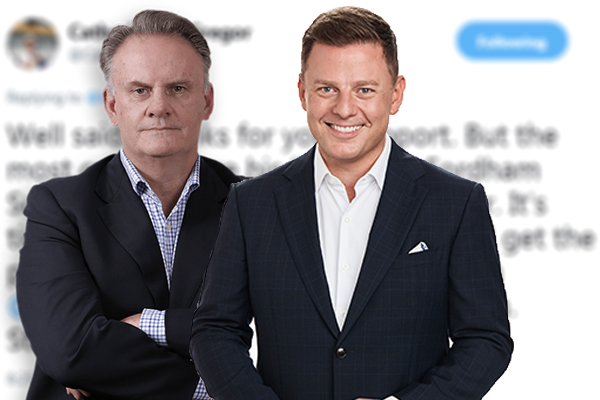 Ben Fordham and Mark Latham's 'inglorious career' are in trouble on Twitter