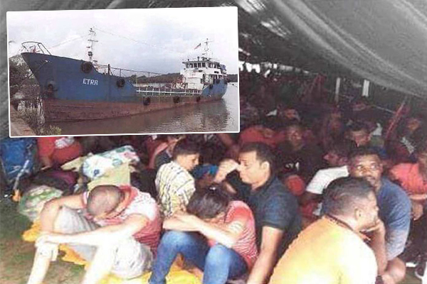 Dutton concerned after biggest people smuggling bust since Labor
