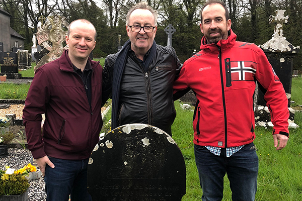 Chris finally meets the Irish family he's been hoping to find