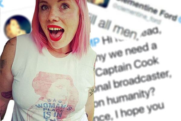 'Kill all men': Controversial feminist booted from charity fundraiser
