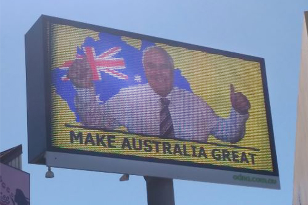Article image for Clive Palmer's advertising blitz tops $1 million