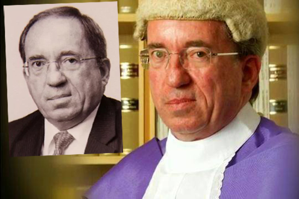 Government taking complaints about disgraceful judge