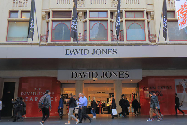 Article image for Descendant of David Jones pays tribute on momentous milestone