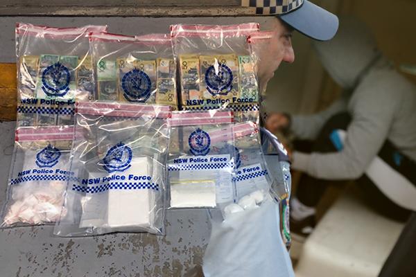 Article image for Huge haul following Sydney drug raids
