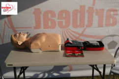 Football charity helping to save lives on the field