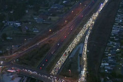 Two hospitalised after horror crash shuts the M4 motorway