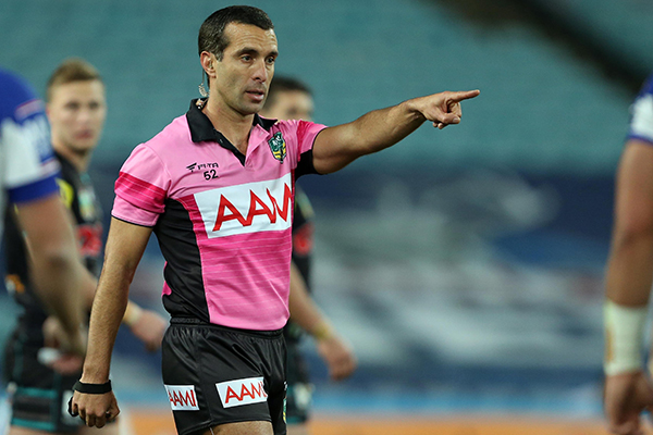 Article image for Is there a sinister reason behind the NRL's best referee being dumped from Origin?