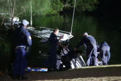 Stolen car plunges into Parramatta River