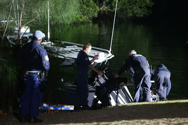 Stolen car plunges into Parramatta River