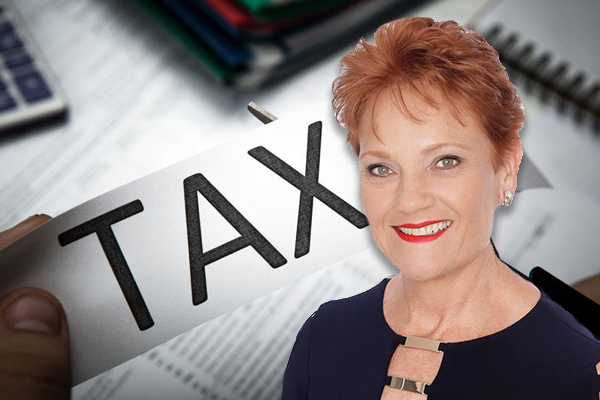 FIRST: Pauline Hanson confirms how she'll vote on income tax cuts