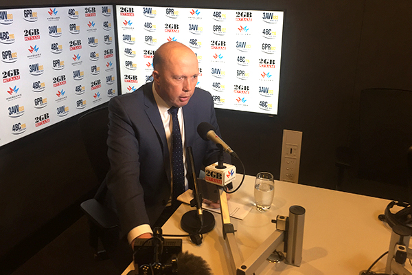 Article image for Peter Dutton: 'He's a joke this guy… I hate even talking about him'