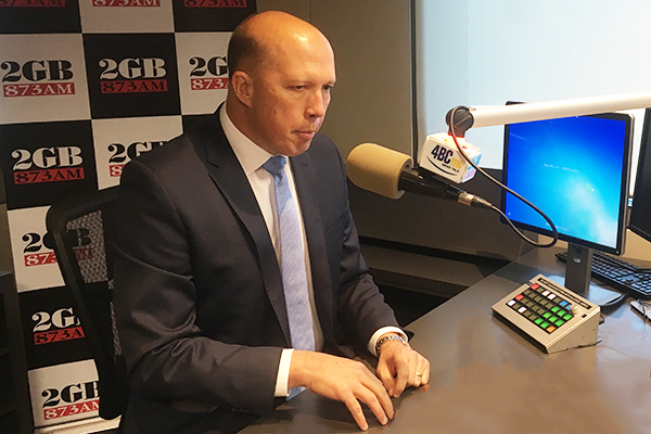 Peter Dutton takes swipe at former PM over 'unforgivable' comments