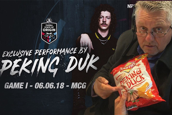 Peking Duk takes over The Ray Hadley Morning Show… seriously